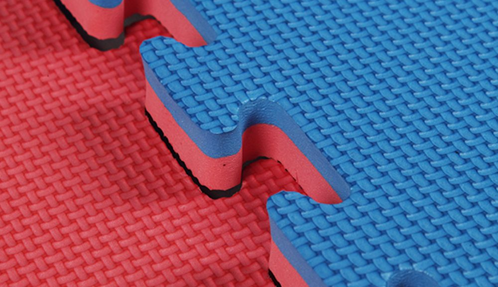 Interlocking EVA Jigsaw Rubber Gym Mats