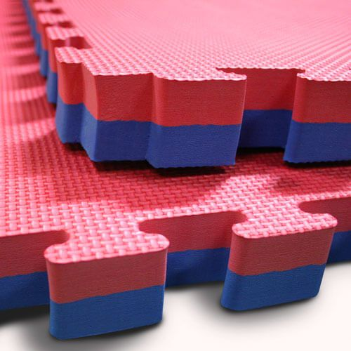 Our jigsaw mats come in a variety of colours for your gym.