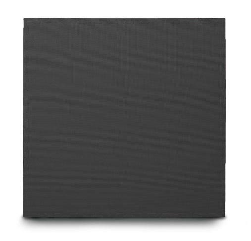 Black Interlocking Jigsaw Mat with Edging