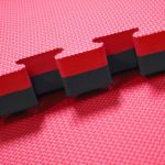Foam mats fit together like foam mats which is why they also call them puzzle foam mats.