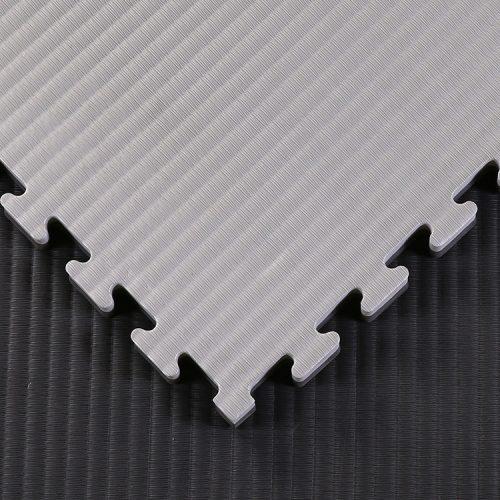 black grey 40mm tatami jigsaw mats