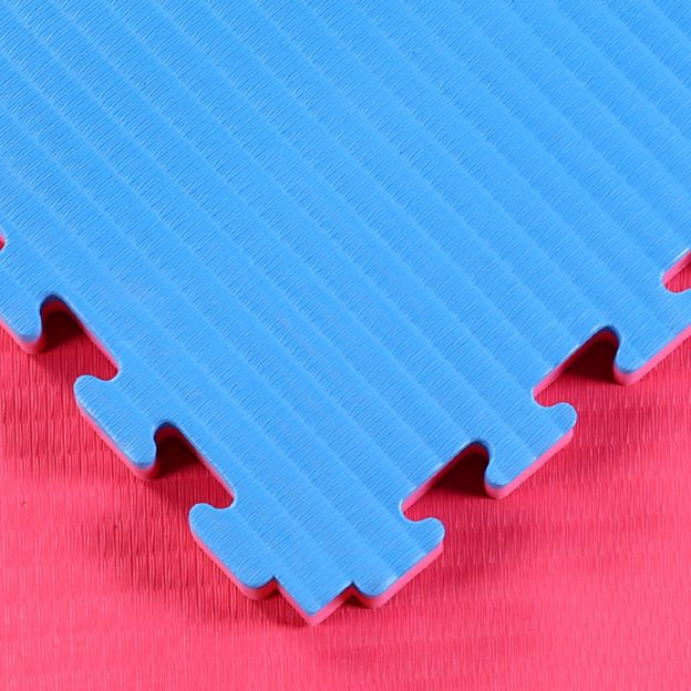 Red Blue 40mm tatami jigsaw mats