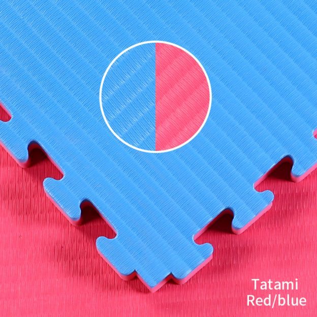 TATAMI FINISH WITH RED BLUE 4