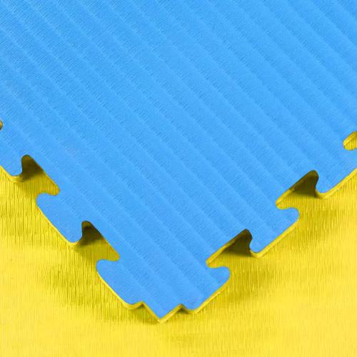 Blue / Yellow Tatami Jigsaw Mats