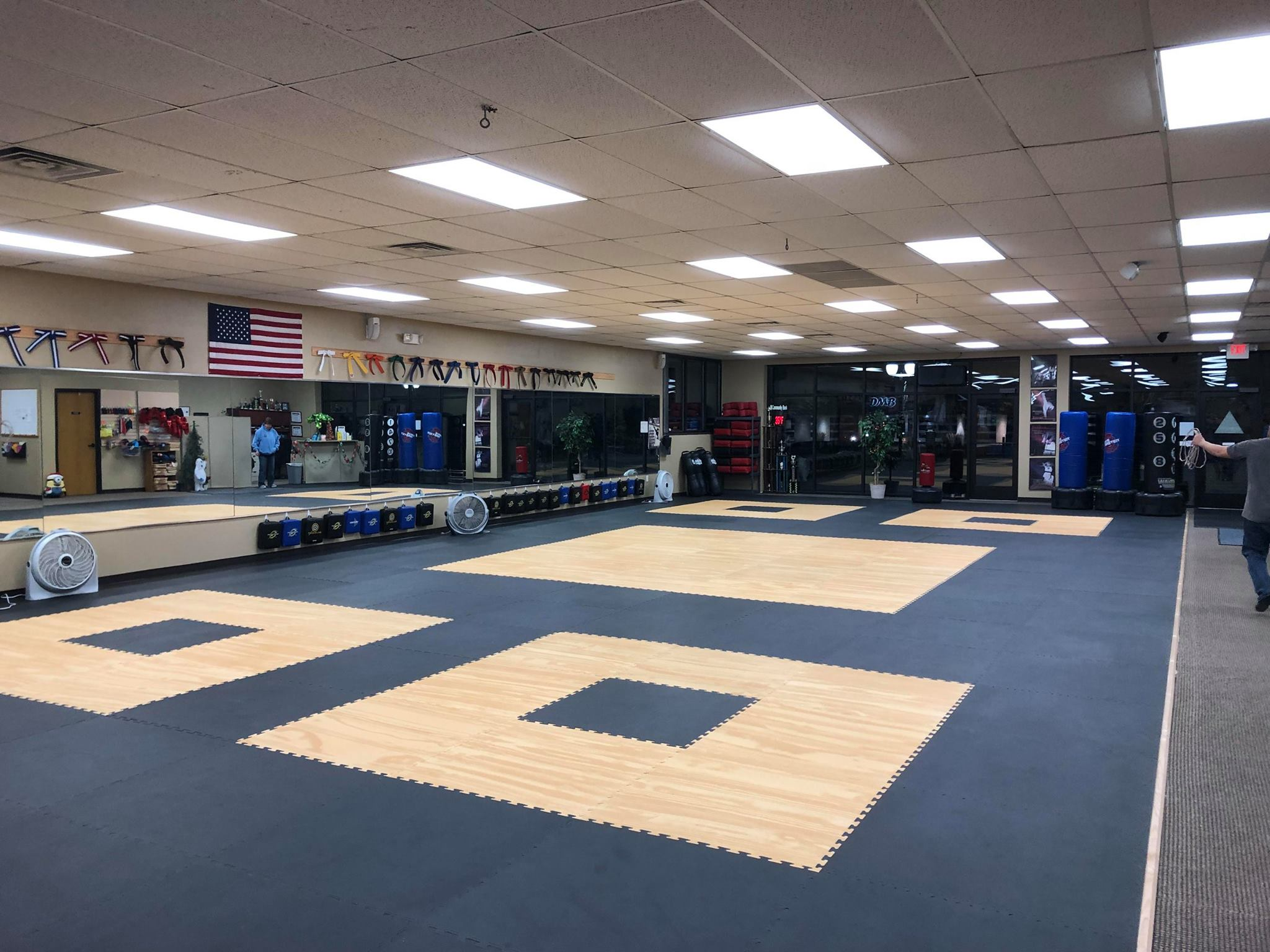 Mats For Olympic Training