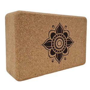 Natural Cork Yoga Blocks